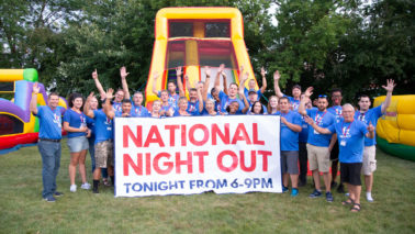 Walker National Night Out, Corporate community impact
