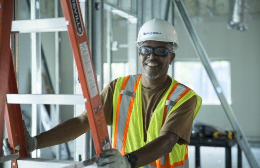 Booz Allen Hamilton, office renovation electrical