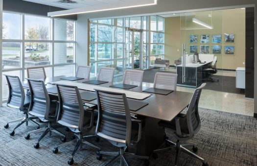 Triangle Associates office renovation audio visual