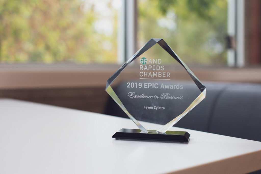 EPIC Awards GR Chamber winner