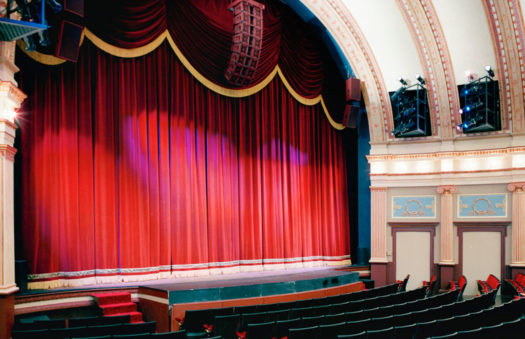 Theatre, historic building electrical renovation