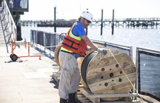 Charleston Harbor Marina electrical repairs