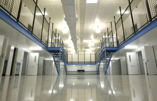 Correctional center, security, systems installation provider