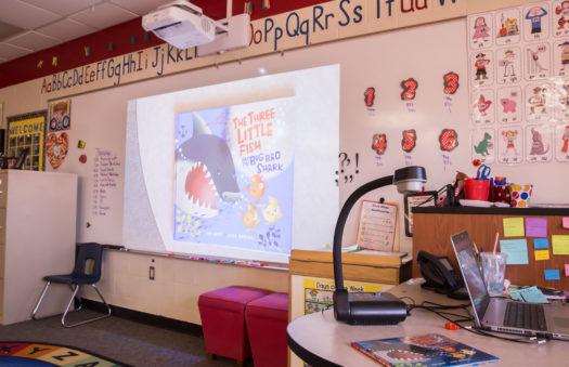 Sparta Schools audio visual systems installation