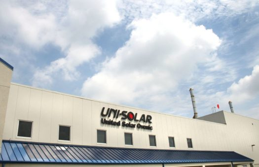 Uni-Solar, Manufacturing operations technology