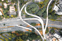 Highway and on-ramps, electrical design build