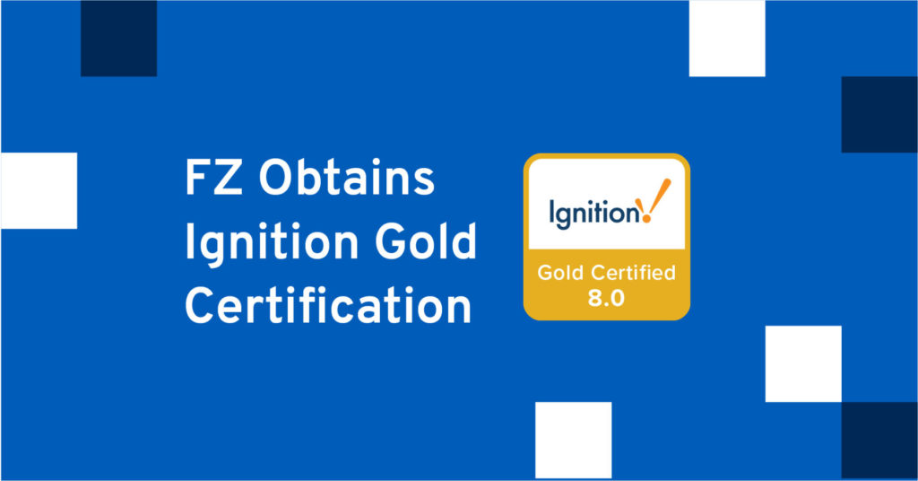 Ignition gold certified integrator