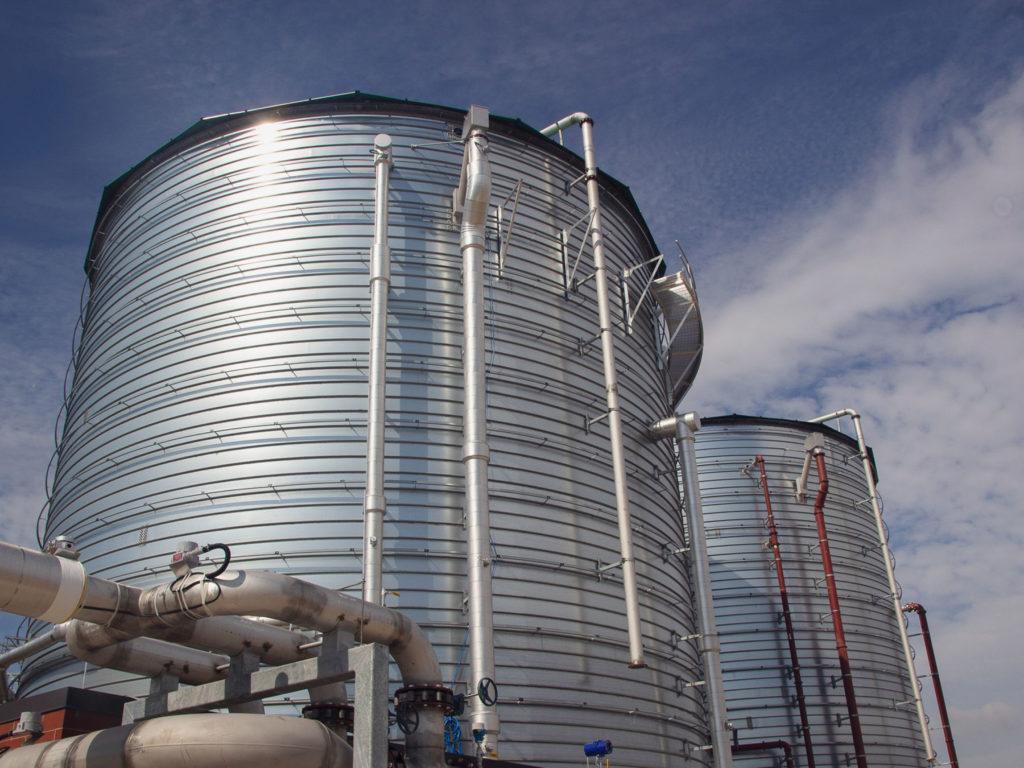 Grand Rapids Biodigester tanks