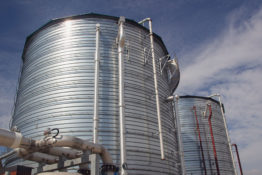 Grand Rapids Biodigester tanks