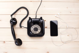 old phone and new phone | migration vs modernization