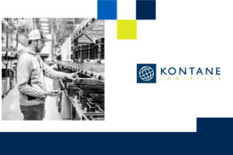 Kontane logo + man using a P2L system