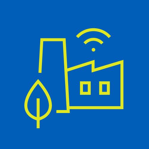 green smart facility icon