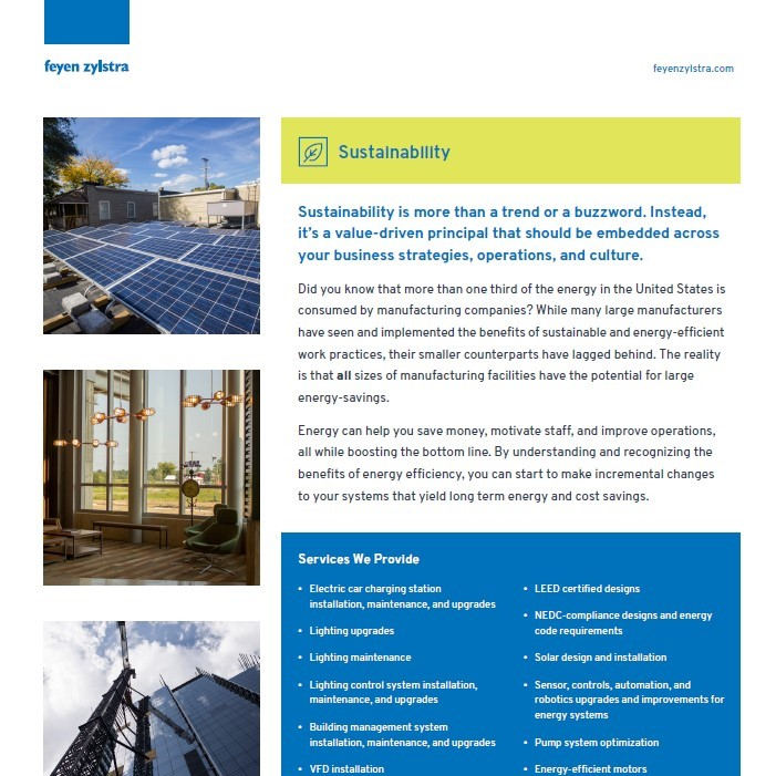 Sustainability Resources cover
